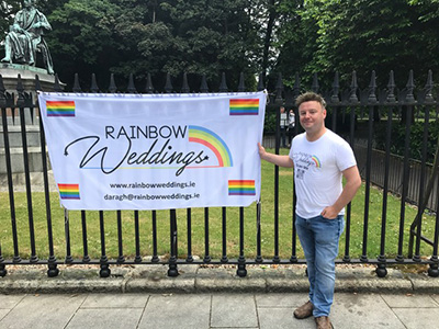 Ask the Expert: Daragh Doyle - Rainbow Weddings